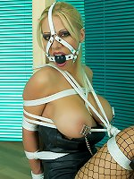 Models Tied Free Gallery - Model Gagged