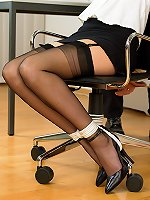 Models Tied Free Gallery  - Office Girl Tied and Gagged